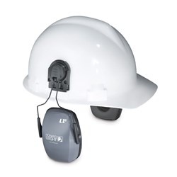 Howard Leight Leightning Earmuffs with Cap Attachment