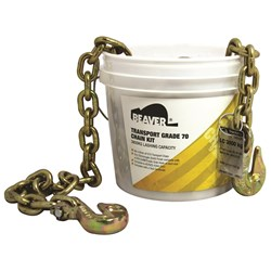 Load Chain 8mm Grade 70 Gold FW Grabs 9M LC 3800Kg