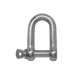 Galvanised Dee Safety Shackle 35x38mm