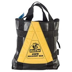 4WD Safety Recovery Bag only Black Rat
