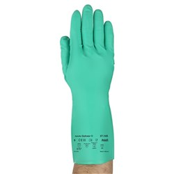 Ansell Solvex Unlined Nitrile Glove
