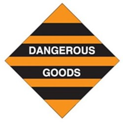 Dangerous Goods Safety Sign