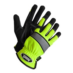 Ansell Projex 97-510 Hi-Vis Leather Gloves