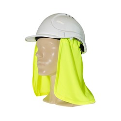 Headwear Uveto Attach-A-Flap Fluro Yellow