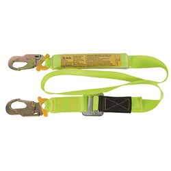 Lanyard Web B-Safe Industrial  Adjustable 2M f/w Double  Action Hooks