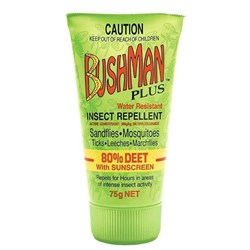 Gel 75Gm Insect Repellant Hvy/Duty With 80% Deet Pack 12 Ctn 144