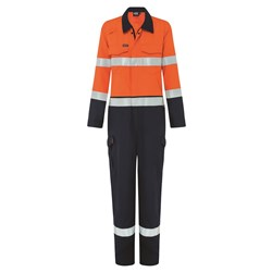 Boomerang Hi-Vis FR Coverall with Reflective Tape