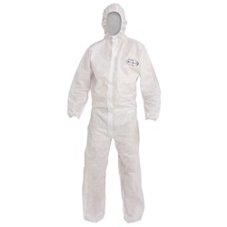 Kleenguard Disposable Coveralls White Large