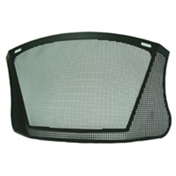 Unisafe Steel Mesh Coated Visor 185mm x 360mm