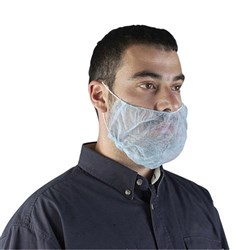 Frontier Disposable Double Looped Beard-Cover