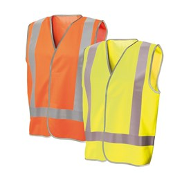 Frontier Hi-Vis Safety Vest with Reflective Tape