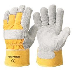 Frontier Yellow Leather Rancher Glove