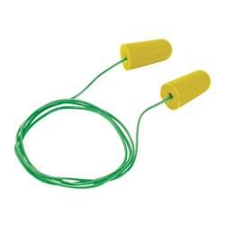 Frontier Disposable Corded Earplugs