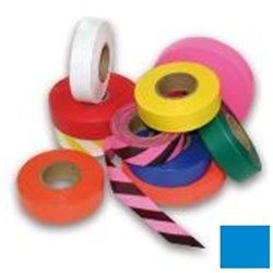 Blue Flagging Tape 25mm x 100m