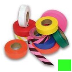Green Flagging Tape 25mm x 100m