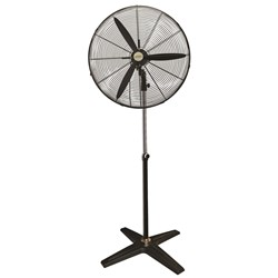 240V Industrial Fan-750mm Ped 3 Blade.