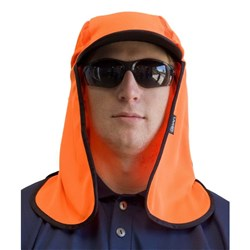 Kala Hat In Hi Vis Orange Micro Mesh