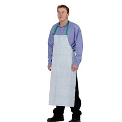 Chrome Leather Welding Bib Style Apron 60cm x 90cm