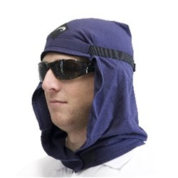 Uveto Le Headwear Cotton Work Hood  Navy