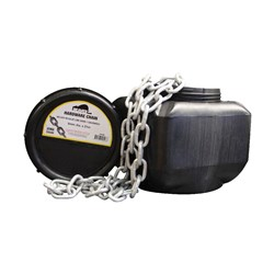 Beaver Proof Coil Chain Regular Link (25kg Pail)