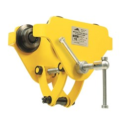 Beaver YT Integral Push Trolley and Girder Clamps (Yellow)