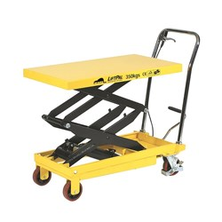 Beaver Two Stage Hydraulic Scissor Lift Table