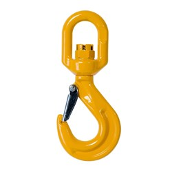 Beaver G80 Eye Swivel Hook With Safety Latch