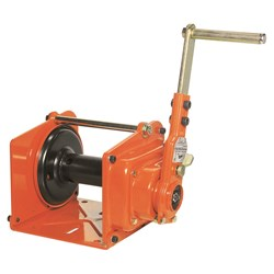 Beaver Industrial Heavy Duty Construction Winch - Powder Coated