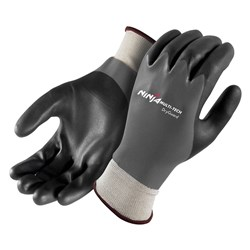 Ninja Multi-Tech Dry Guard Black/Grey Glove