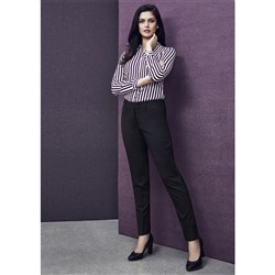 Biz Corporates Womens Slim-Leg Trousers