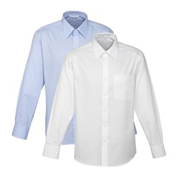 Biz Collection Mens Luxe Button-Up Shirt