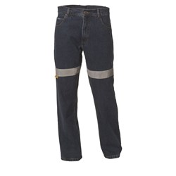 WS Workwear Denim Jeans with Reflective Tape