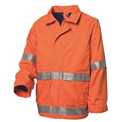 WS Workwear Hi-Vis 4-in-1 -Jacket with Reflective Tape