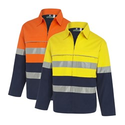 WS Workwear Hi-Vis Jacket with Reflective Tape