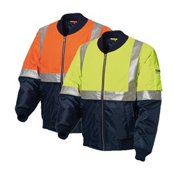 WS Workwear Hi-Vis Waterproof Flying Jacket with Reflective Tape