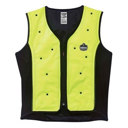 Ergodyne Chill-Its Dry Evaporative Cooling Vest Lime
