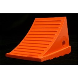 Wheel Chock L216 X W191 H159mm Orange