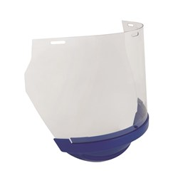 Unisafe Replacement Clear Polycarb Visor/Blue Chinguard