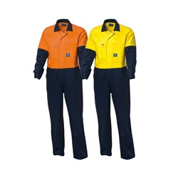 WS Workwear Hi-Vis Drill Overall
