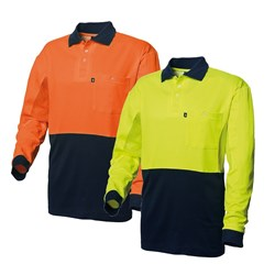 WS Workwear Mens Hi-Vis Polo Shirt