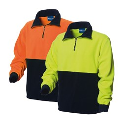 WS Workwear Hi-Vis Polar Fleece Jumper