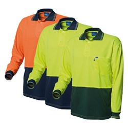 WS Workwear Hi-Vis Polo Shirt