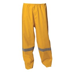 WS Workwear Waterproof Rain Trousers with Reflective Tape