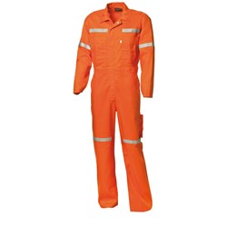 WS Workwear Koolflow Hi-Vis Fire Retardant Coverall with Reflective Tape