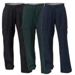 Cotton Mid Weight Cargo Trouser