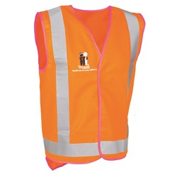 McGrath Foundation Hi-Vis Safety Vest with Reflective Tape