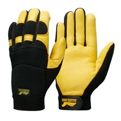 Contego Black/Yellow Golden Eagle Grip Tab Glove