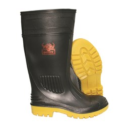 Inyati Black & Yellow Safety Gumboot with Nitrile Sole