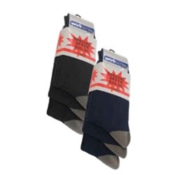 Cotton/Nylon Worksense 3 Pack Socks