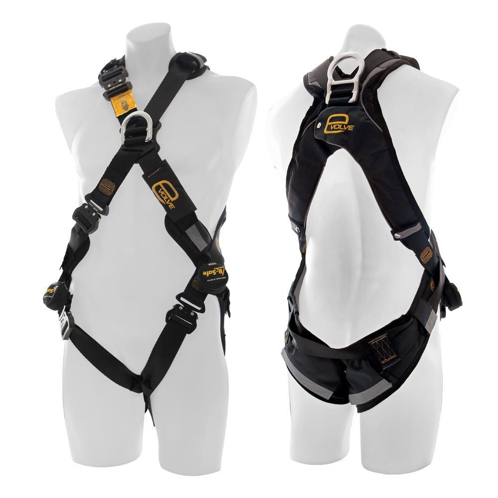 evolve cross over harness c w rear front fall arrest ds. Black Bedroom Furniture Sets. Home Design Ideas